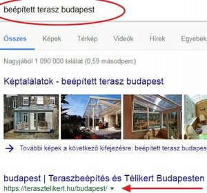 teraszbeépítés budapest - első beépített terasz